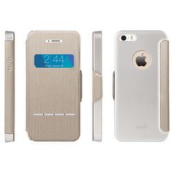 Чехол для Apple iPhone 5, 5S (Moshi SenseCover 99MO072241) (серый)