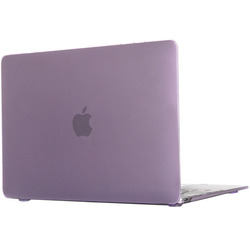 Чехол-накладка для Apple Macbook 12 (Novelty Electronics Transparent Hard Shell Case) (фиолетовый)