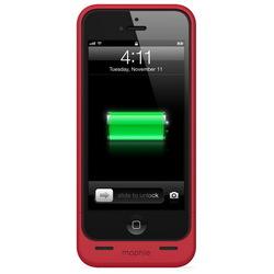 Чехол-аккумулятор для Apple iPhone 5, 5S (Mophie Juice Pack Helium 143976) (красный)