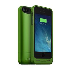 Чехол-аккумулятор для Apple iPhone 5 (Mophie Juice Pack Helium 248578) (зеленый)
