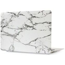 Чехол-накладка для Apple Macbook 12 (Novelty Electronics 663071) (белый мрамор)