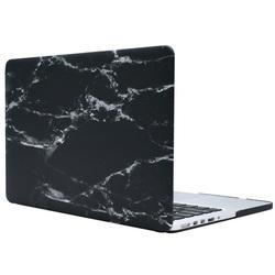 Чехол-накладка для Apple Macbook 12 (Novelty Electronics 661986) (черный мрамор)