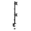 Arm Media LCD-T43 (черный) - Кронштейн для монитораКронштейны для мониторов<br>Кронштейн для монитора, размер экрана 15-32, вращение 360°, максимальная нагрузка 2x10 кг, наклон ±45°, поворот ±45°, стандарт VESA: 75/100 мм.<br>