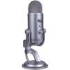 Blue Microphones Yeti Cool Grey - МикрофонМикрофоны<br>Blue Microphones Yeti Cool Grey - микрофон, конденсаторный, регулируемое основание, подключение USB, 20-20000 Гц, 4 режима записи, кнопка выключения громкости.<br>