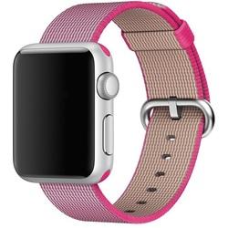 Ремешок для Apple Watch 42 мм (Hoco Nylon Band) (розовый)