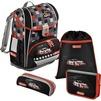 Ранец Step By Step Light2 Racer (4 предмета) - Ранец, рюкзак, сумка, папкаРанцы, рюкзаки, сумки<br>Ранец Step By Step Light2 Racer включает в себя пенал (с наполнением), маленький пенал, сумка для обуви.<br>