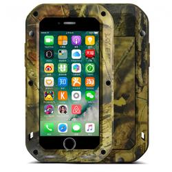 Чехол для Apple iPhone 7 (Love Mei Camo Series 872872) (Jungle)