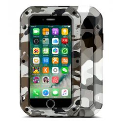 Чехол для Apple iPhone 7 Plus (Love Mei Camo Series 872875) (Desert)