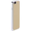 Чехол для Apple iPhone 6 (Just Mobile AluFrame Leather AF-168BG) (бежевый) - Чехол для телефонаЧехлы для мобильных телефонов<br>Алюминиевый бампер, полиуретан с неплохой амортизацией, крышка обтянута натуральной кожей.<br>