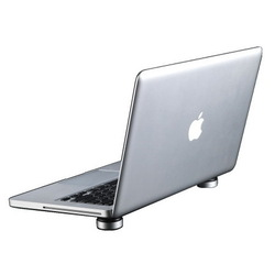 Подставка для Apple MacBook (Just Mobile Lazy Couch LC-200) (черный)