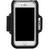 Спортивный чехол на руку для Apple iPhone 6, 6s, 7 (Incase Active Armband INOM170201-BLK) (черный) - Чехол для телефонаЧехлы для мобильных телефонов<br>Карман для ключей или карт, легкий, дышащий материал, регулируемый ремень, защита экрана, ручная стирка.<br>