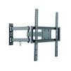 Ultramounts UM872 (черный) - Подставка, кронштейнПодставки и кронштейны<br>Для использования с телевизорами диагональю 32-55, весом до 35 кг. Возможен наклон до  15 градусов и подъем до 10 градусов. Поворот влево и вправо на 90 градусов. Расстояние телевизора от стены 63-427 мм. VESA 200x200, 300x300, 400x400.<br>