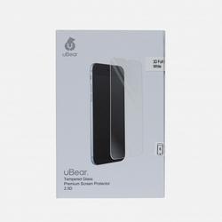 Защитное стекло для Apple iPhone 6, 6S (uBear 3D Full Cover GL05WH03-I6) (белый)