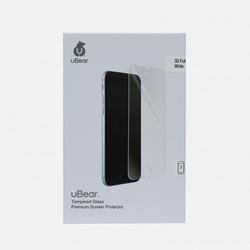 Защитное стекло для Apple iPhone 7 (uBear 3D Full Cover GL06WH03-I7) (белый)