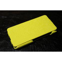 Чехол-флип для Apple iPhone 4, 4S (iBox Premium YT000006532) (желтый)