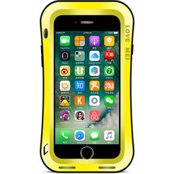 Чехол для Apple iPhone 7 (Love Mei Powerful Small Waist Upgrade Version 859579) (желтый)