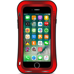 Чехол для Apple iPhone 7 Plus (Love Mei Powerful Small Waist Upgrade Version 859577) (красный)