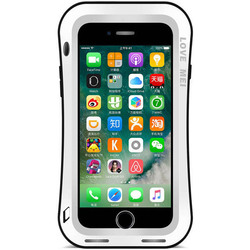 Чехол для Apple iPhone 7 Plus (Love Mei Powerful Small Waist Upgrade Version 859573) (белый)