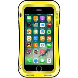 Чехол для Apple iPhone 7 Plus (Love Mei Powerful Small Waist Upgrade Version 859581) (желтый)