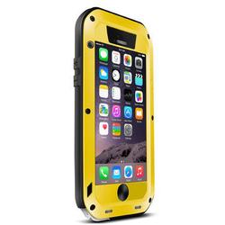 Чехол для Apple iPhone 6 (Love Mei Powerful Small Weist Upgrade Version 305166) (желтый)