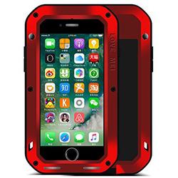 Чехол для Apple iPhone 7 (Love Mei Powerful 859549) (красный)