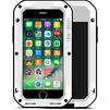 Чехол для Apple iPhone 7 (Love Mei Powerful 859547) (белый) - Чехол для телефонаЧехлы для мобильных телефонов<br>Противоударный пыле- и влагозащищенный чехол с защитой экрана гарантирует непревзойденную защиту смартфона от последствий падений, сколов, царапин, пыли и брызг.<br>