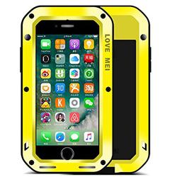 Чехол для Apple iPhone 7 (Love Mei Powerful 859551) (желтый)