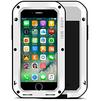 Чехол для Apple iPhone 7 Plus (Love Mei Powerful 859559) (белый) - Чехол для телефонаЧехлы для мобильных телефонов<br>Противоударный пыле- и влагозащищенный чехол с защитой экрана гарантирует непревзойденную защиту смартфона от последствий падений, сколов, царапин, пыли и брызг.<br>