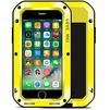 Чехол для Apple iPhone 7 Plus (Love Mei Powerful 859561) (желтый) - Чехол для телефонаЧехлы для мобильных телефонов<br>Противоударный пыле- и влагозащищенный чехол с защитой экрана гарантирует непревзойденную защиту смартфона от последствий падений, сколов, царапин, пыли и брызг.<br>