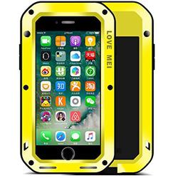 Чехол для Apple iPhone 7 Plus (Love Mei Powerful 859561) (желтый)