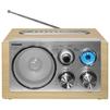 TELEFUNKEN TF-1638U (светлое дерево) - РадиоприемникРадиоприемники<br>Стационарный, от сети, FM, СВ, MP3, SD, USB.<br>