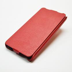 Чехол-флип для Lenovo S660 (iBox Premium YT000006231) (красный)
