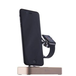 Док станция для Apple iPhone, Apple Watch (COTEetCI Base Hub Dock) (золотистый)