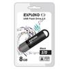 Exployd 570 8GB (черный) - USB Flash driveUSB Flash drive<br>Exployd 570 8GB - флеш-накопитель, объем 8Гб, USB 2.0, 15Мб/с<br>