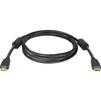 Кабель HDMI M-M v1.4 2м (Defender HDMI-07PRO 87342) (черный) - HDMI кабель, переходникHDMI кабели и переходники<br>Разъемы HDMI M - HDMI M, версия 1.4, позолоченные контакты, ферритовые фильтры, длина 2м.<br>