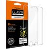 Защитное стекло для Apple iPhone 7 (Spigen 042GL20424) - Защитное стекло, пленка для телефонаЗащитные стекла и пленки для мобильных телефонов<br>Высокая прочность, не влияет на уровень яркости, олеофобное покрытие, закругленные углы.<br>