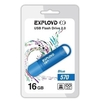 Exployd 570 16GB (синий) - USB Flash driveUSB Flash drive<br>Exployd 570 16GB - флеш-накопитель, объем 16Гб, USB 2.0, 15Мб/с, пластик.<br>