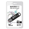 Exployd 570 16GB (черный) - USB Flash driveUSB Flash drive<br>Exployd 570 16GB - флеш-накопитель, объем 16Гб, USB 2.0, 15Мб/с, пластик.<br>