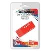 OltraMax 240 8GB (красный) - USB Flash driveUSB Flash drive<br>OltraMax 240 8GB - флеш-накопитель, объем 8Гб, USB 2.0, 15Мб/с, пластик.<br>