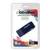 OltraMax 240 8GB (синий) - USB Flash driveUSB Flash drive<br>OltraMax 240 8GB - флеш-накопитель, объем 8Гб, USB 2.0, 15Мб/с, пластик.<br>