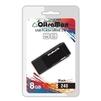 OltraMax 240 8GB (черный) - USB Flash driveUSB Flash drive<br>OltraMax 240 8GB - флеш-накопитель, объем 8Гб, USB 2.0, 15Мб/с, пластик.<br>