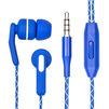 Dialog ES-F15 (синий) - НаушникиНаушники<br>Наушники с микрофоном, вставные (затычки), разъем mini jack 3.5 mm.<br>