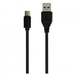 Дата-кабель USB - USB TYPE C 1.2м (Smartbuy iK-3112) (черный)