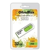 OltraMax 250 32GB (зеленый) - USB Flash driveUSB Flash drive<br>OltraMax 250 32GB - флеш-накопитель, объем 32Гб, USB 2.0, 15Мб/с, пластик, выдвижной разъем.<br>