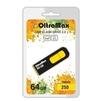 OltraMax 250 64GB (желтый) - USB Flash driveUSB Flash drive<br>OltraMax 250 64GB - флеш-накопитель, объем 64Гб, USB 2.0, 15Мб/с, пластик, выдвижной разъем.<br>