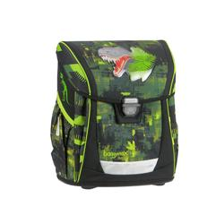 ранец step by step baggymax fabby green dino (3 предмета)