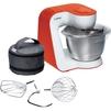 Bosch MUM54I00 (белый, оранжевый) - Кухонный комбайн, измельчительКухонные комбайны и измельчители<br>Мотор мощностью 900 Вт, 7 регулировок скорости + импульсный режим, электронный контроль скорости, смесительная чаша из нержавеющей стали, объемом 3.9 л.<br>