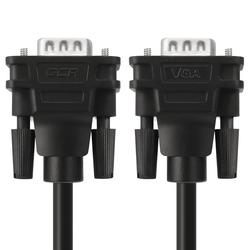 Кабель SVGA - SVGA 1M (Greenconnect GCR-VM2VM1-1.0m) (черный)