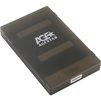 AgeStar 3UBCP1-6G (черный) - Корпус, док-станция для жесткого дискаКорпуса и док-станции для жестких дисков<br>AgeStar 3UBCP1-6G - внешний корпус для HDD, 2.5, SATA HDD/SSD, USB 3.0, пластик, черный, безвинтовая конструкция.<br>