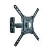 Ultramounts UM869 (черный) - Подставка, кронштейнПодставки и кронштейны<br>Для использования с телевизорами диагональю 23-55, весом до 35кг. Возможен наклон до 15 градусов и подъем до 5 градусов. Поворот влево и вправо на 90 градусов. Расстояние телевизора от стены 49-305 мм. VESA 75x75, 100x100, 200x200, 300x300,400x400.<br>